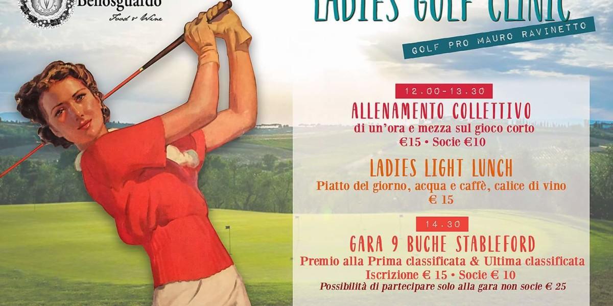 Ladies Golf Clinic 10 marzo